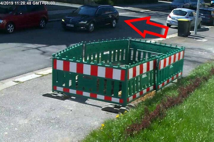 Wem ist der Skoda am 17.04.19 in Chemnitz aufgefallen?