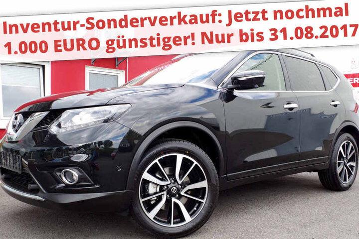 autocenter chemnitz: nissan x-trail tenka schon für 239 euro im monat