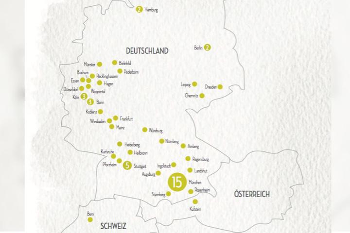 An 64 Standorten ist der Burgergrill bereits vertreten - weitere sind in Planung.