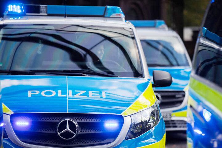 Die Polizei im Einsatz. (Symbolbild)