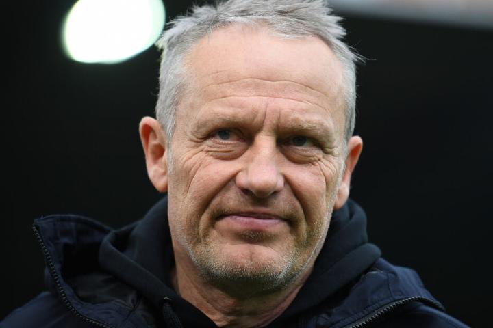 """Hofft auf einen """"Schub"""" in Stuttgart: Freiburgs Coach Christian Streich."""