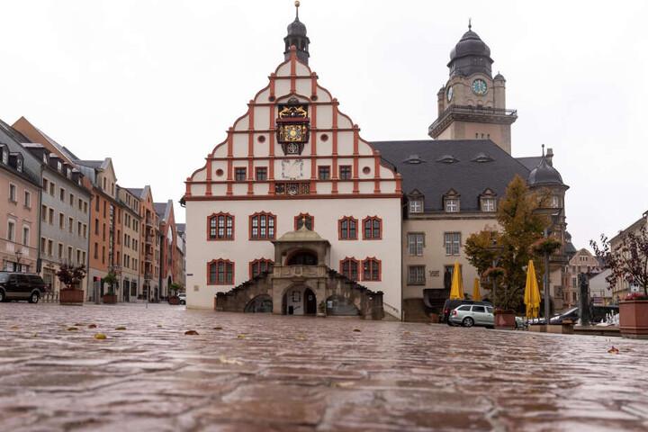 Der Plauener Markt sieht schon schmuck aus. Ab nächstem Jahr soll der Süden der Stadt aufgehübscht werden.