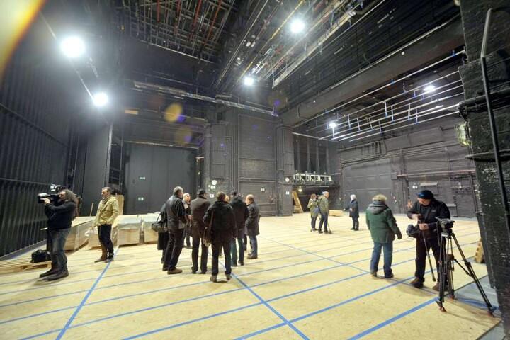 Die Gewandhaus-Bühne hat Pause. Während der Sanierung weicht das Theater  Plauen-Zwickau auf Ersatzspielstätten aus.
