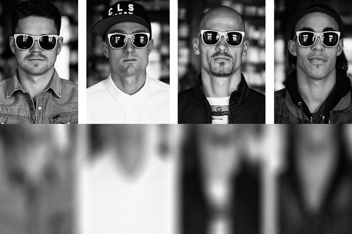Im Januar wurden diese Sonnenbrillen-Porträts der Profis von RB Leipzig für insgesamt 16.000 Euro versteigert.