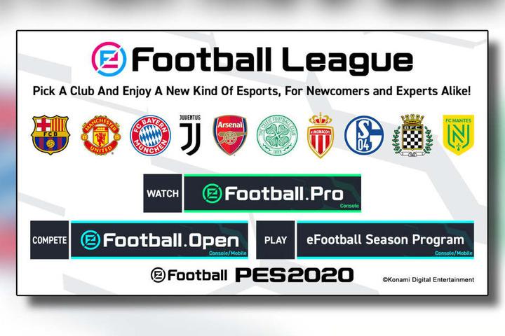 Die offizielle Grafik zeigt die Clubs, die nun auch auf digitalem Rasen Punkte sammeln wollen.