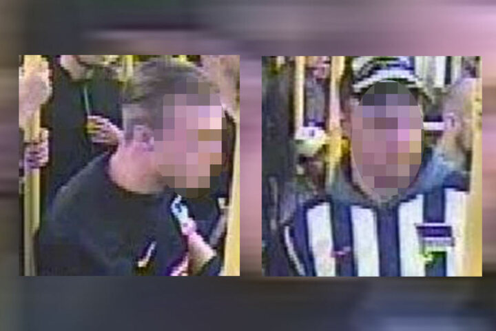 Die beiden Täter im Alter von 24 und 33 Jahren konnten bereits durch die Veröffentlichung der Bilder ermittelt werden.