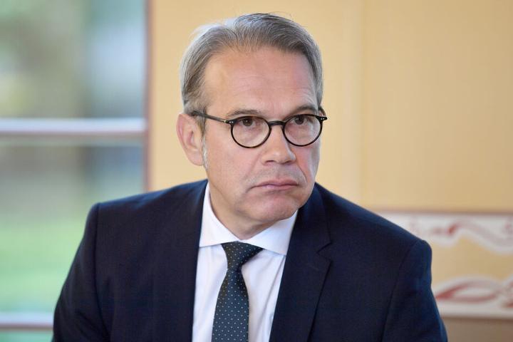 Georg Maier sieht die Kandidatur der Polizisten sehr kritisch.