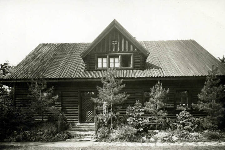 So sah die Villa Bärenfett im Gründungsjahr 1928 aus.