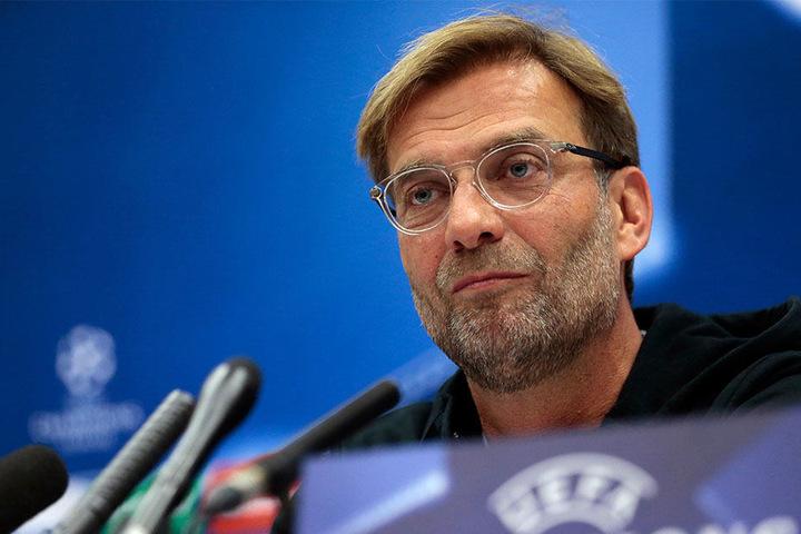 Als Jürgen Klopp gefragt wurde, ob er in einen seinen Spieler verliebt sei, reichte es ihm.