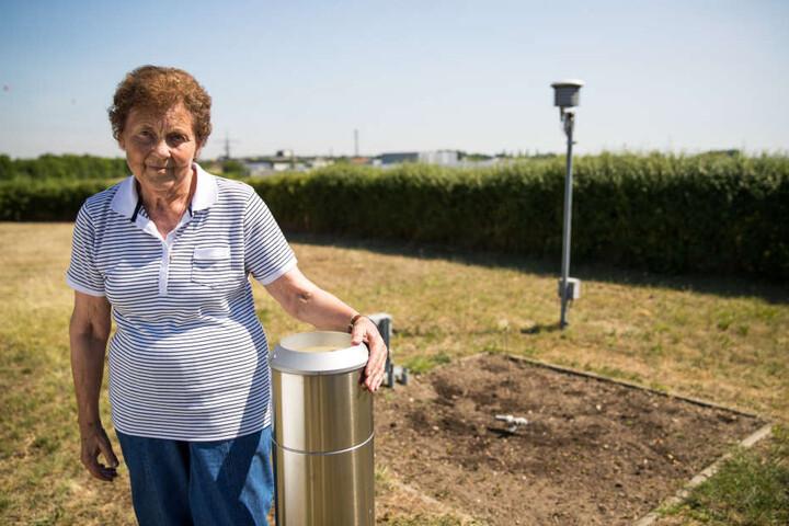 Die Messstation von Oma Magdalena meldet immer wieder Rekordtemperaturen.