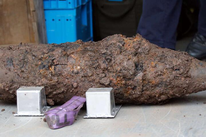 Die Granate konnte schnell abtransportiert werden.