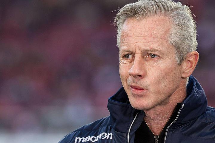 Skeptisch: Union-Trainer Jens Keller.