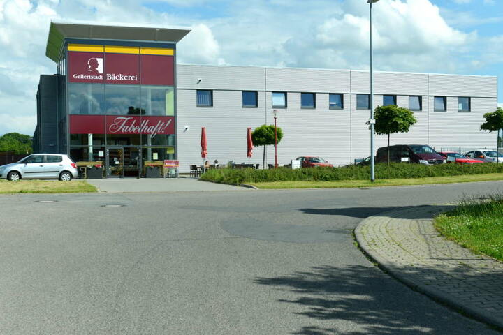Der Hauptstandort der Gellertstadt Bäckerei in Hainichen.