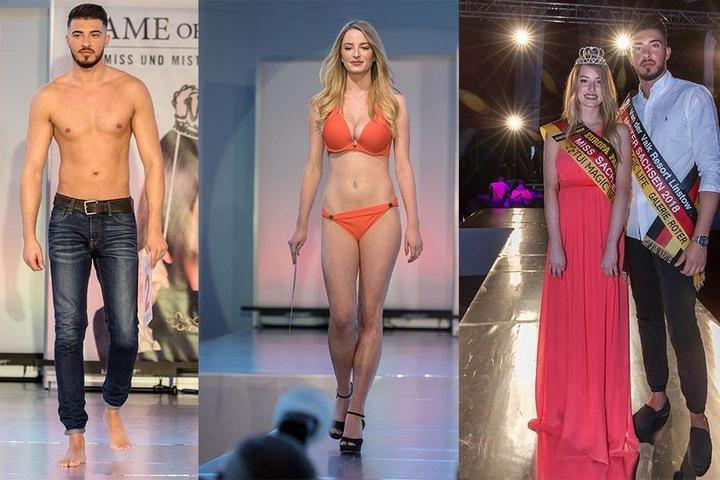 Auch beim obligatorischen  Bikini bzw.  Oben-ohne-Walk  konnten die beiden Schönheiten die Jury überzeugen.