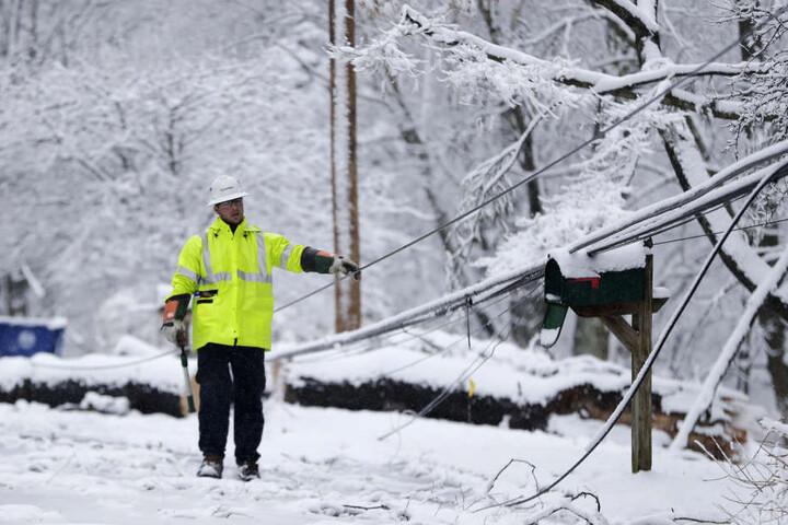 Wintereinbruch an US-Ostküste forderte Menschenleben