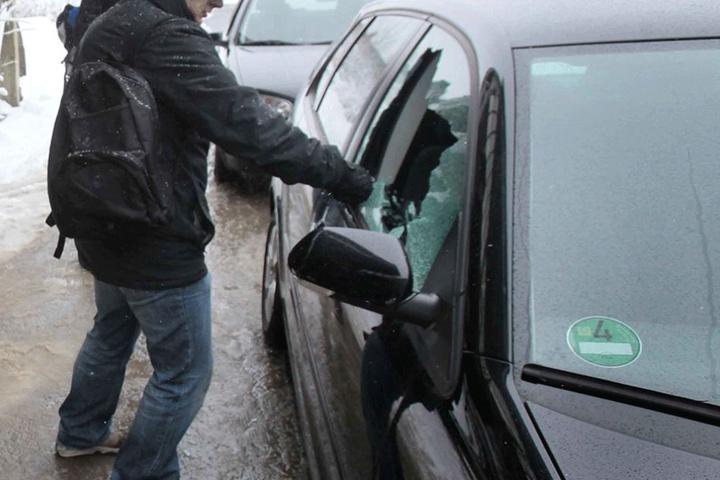 Der Dieb konnte die Notebook-Tasche des Fahrers stehlen (Symbolfoto).