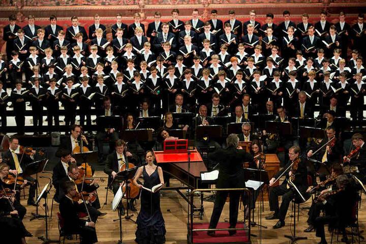 Seit 800 Jahren gibt es den Dresdner Kreuzchor. Deshalb zählt er zum immateriellen Kulturerbe.