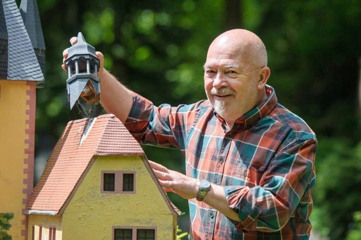 Horst Drichelt leitete die Betreibergesellschaft des Klein-Erzgebirges, nun übernimmt sein Sohn das Amt.