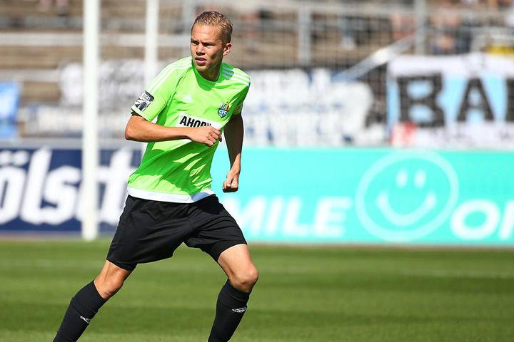 Dennis Grote patzte in Köln folgenschwer. Der Linksverteidiger, der vom MSV Duisburg kam, ist noch nicht der erhoffte Leistungsträger.