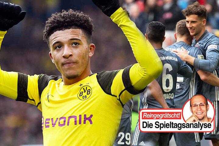 Borussia Dortmund oder der FC Bayern München - wer wird am Ende Deutscher Meister? Reingegrätscht - Die Spieltagsanalyse von TAG24-Redakteur Stefan Bröhl. (Bildmontage)