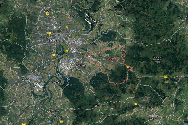 Die Tat ereignete sich in Kaufungen bei Kassel.