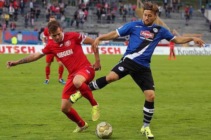 Ein Drittligaspiel hat der ehemalige Armine für den DSC bestritten.