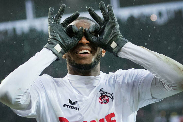 Würde Anthony Modeste (30) seine alte Bundesliga-Form beim VfB wiederfinden? Für den Kölner FC traf der Franzose 40 Mal in 68 Einsätzen.