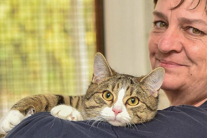 Katrin Thiele wünscht sich für ihren kleinen Schützling ein liebevolles neues Zuhause.
