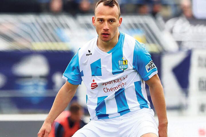 Timo Mauer kann zwar 22 Regionalliga-Einsätze für die Himmelblauen vorweisen. Zuletzt kam der Offensivmann aber immer kürzer oder - wie am Sonntag in Berlin -gar nicht zum Einsatz.