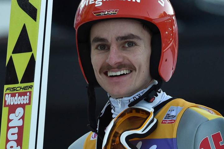 Richard Freitag ist bei der  Skiflug-WM in Oberstdorf wieder Teil der Mannschaft.