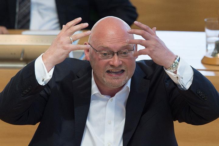 Der Innenexperte der Linken, Enrico Stange (49).