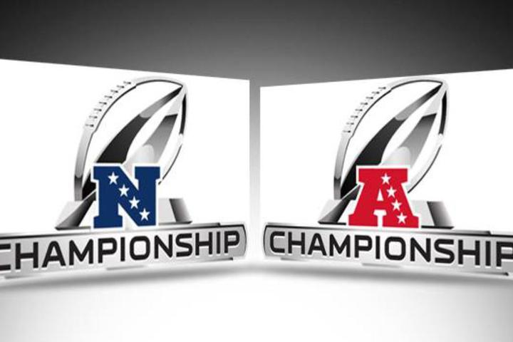 Die Championship-Games der NFL stehen auf dem Plan.