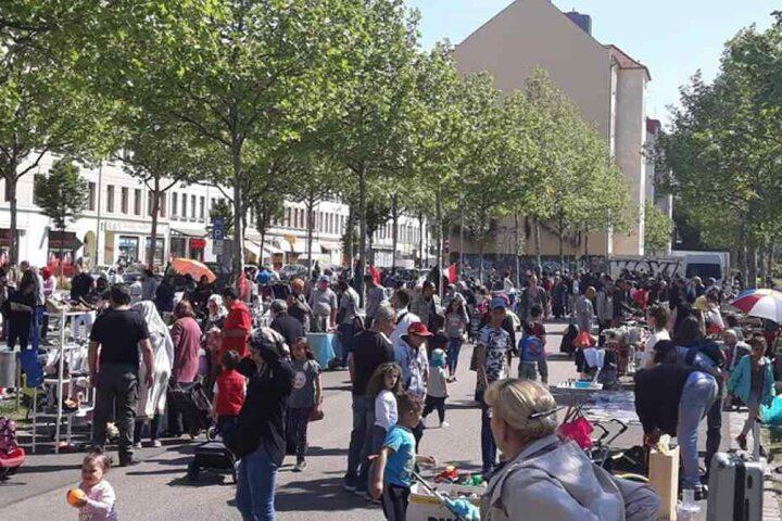 Wie wäre es am Samstag mit einem Flohmarkt auf der Eisenbahnstraße?