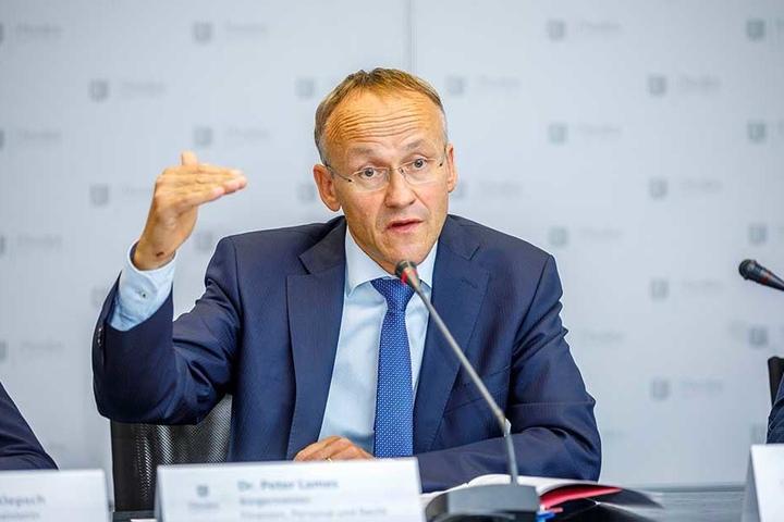 Will weder an den Einnahmen noch an den Regelungen dazu Gravierendes ändern: Finanzbürgermeister Dr. Peter Lames (53, SPD).