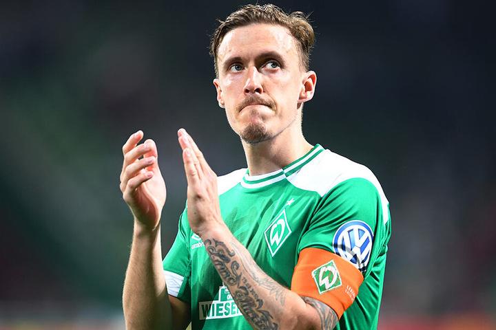 Max Kruse war beim SV Werder Bremen Kapitän, Leistungsträger und Torjäger.