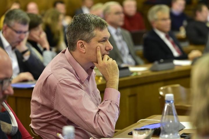 SPD-Vertreter Axel Brückom (44)