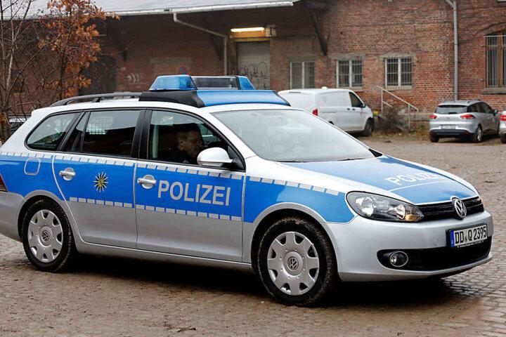 Die Polizei ist vor Ort.
