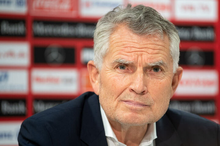 Der VfB-Präsident Wolfgang Dietrich denkt überhaupt nicht an einen Rücktritt.
