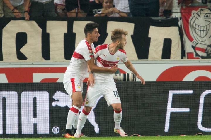 Auch Berkay Özcan (links) absolvierte am Mittwoch Teile des Trainings.