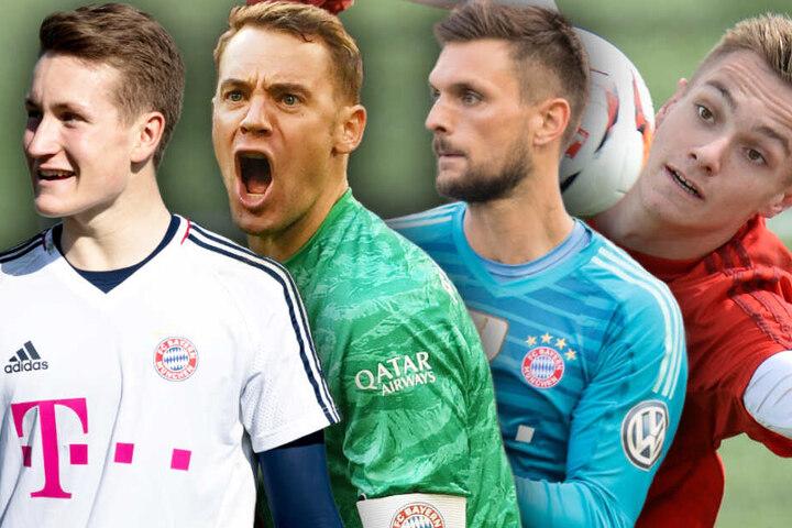 Beim FC Bayern München herrscht nach der Verpflichtung eines weiteres Torwarts große Unruhe. (Bildmontage)