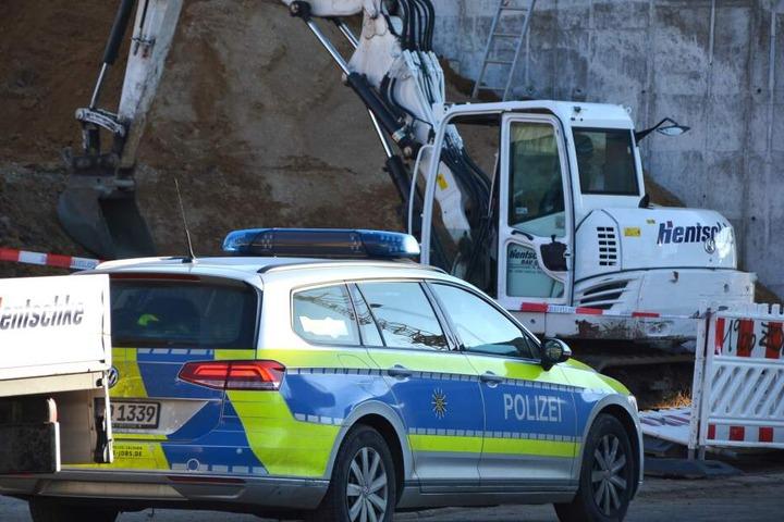 Am Donnerstagvormittag ist die Polizei vor Ort.