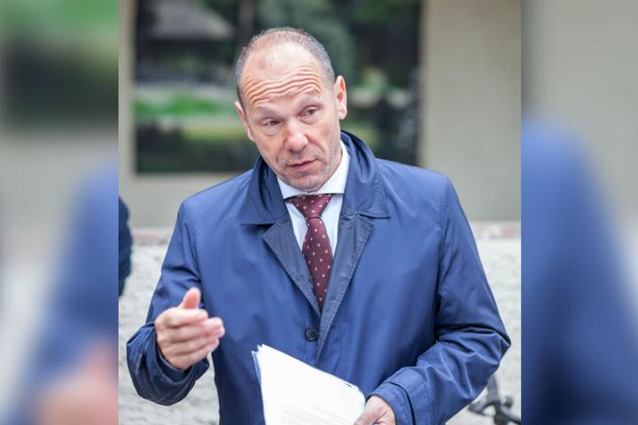 Bürgermeister Lothar Ungerer (61) plant Tempo 30 in ganz Meerane.