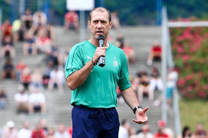 Ein Amerikaner in Zwickau: Joe Enochs soll den FSV in der kommenden Drittliga-Saison zu weiteren Erfolgen führen.