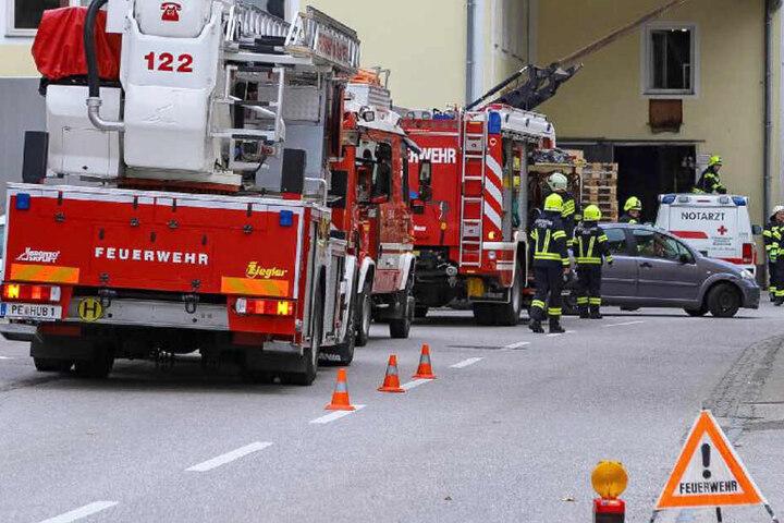 In Perg in Österreich ist es in einer Mühle zu einem schrecklichen Unfall gekommen.