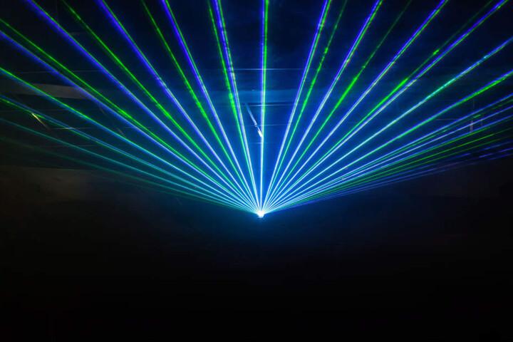 Eine Lasershow der besonderen Art erwartet einen auf der LASER 2000+.