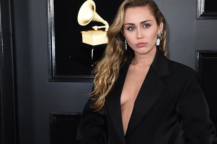 Miley bei den Grammy Awards im Februar in Los Angeles.