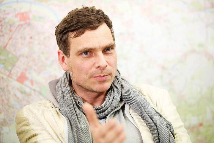 Ist entsetzt von den Plänen der konservativen Räte: Grüne-Chef Thomas Löser (46).