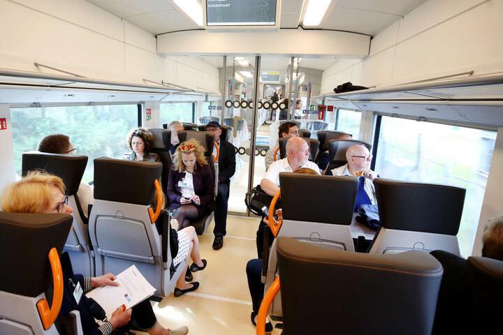 Testfahrt: Innen verspricht Hersteller Siemens mehr Komfort.