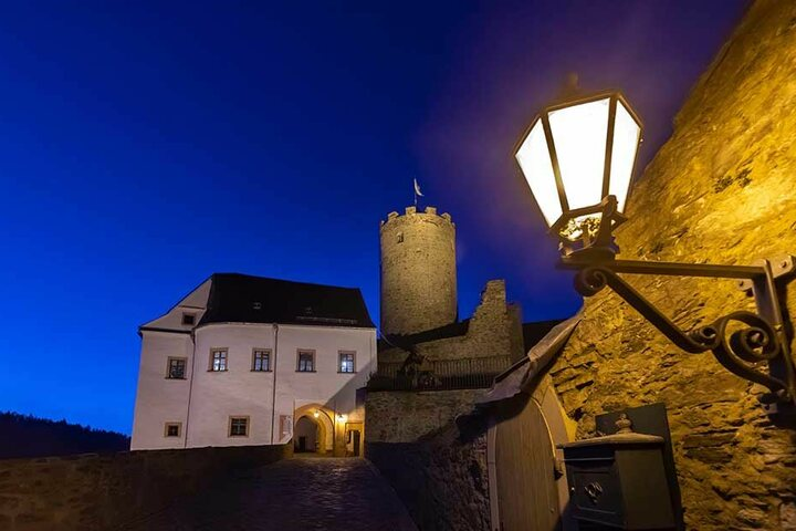 Die Ritterburg Scharfenstein sucht einen neuen Gastronomen für die Burgschänke.