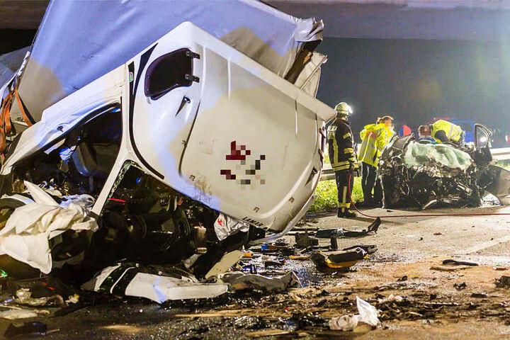 Der Unfall ereignete sich im vergangenen Herbst auf der A67 beim Rüsselsheimer Dreieck.